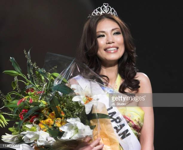 Riyo Mori Winner of Miss Universe Japan 2007 during Miss Universe Japan 2007 CASINO FINALE Presented by Samantha Thavasa Show at Tokyo International...