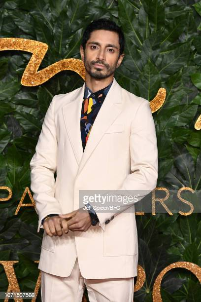 Riz Ahmed arrives at The Fashion Awards 2018 In Partnership With Swarovski at Royal Albert Hall on December 10 2018 in London England