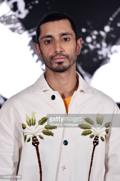 """Riz Ahmed attends a photo call for Columbia Pictures' """"Venom"""" at the Four Seasons Hotel Los Angeles at Beverly Hills on September 27, 2018 in Los..."""