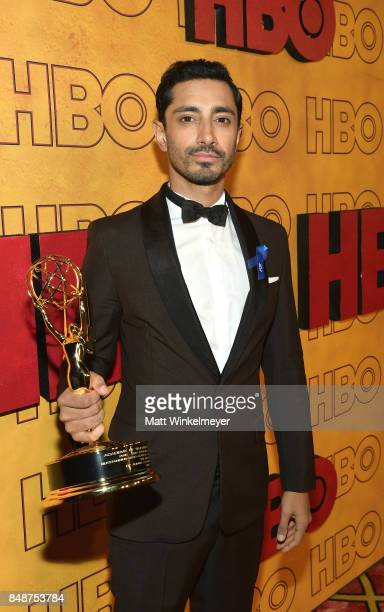 Riz Ahmed attends HBO's Post Emmy Awards Reception at The Plaza at the Pacific Design Center on September 17 2017 in Los Angeles California