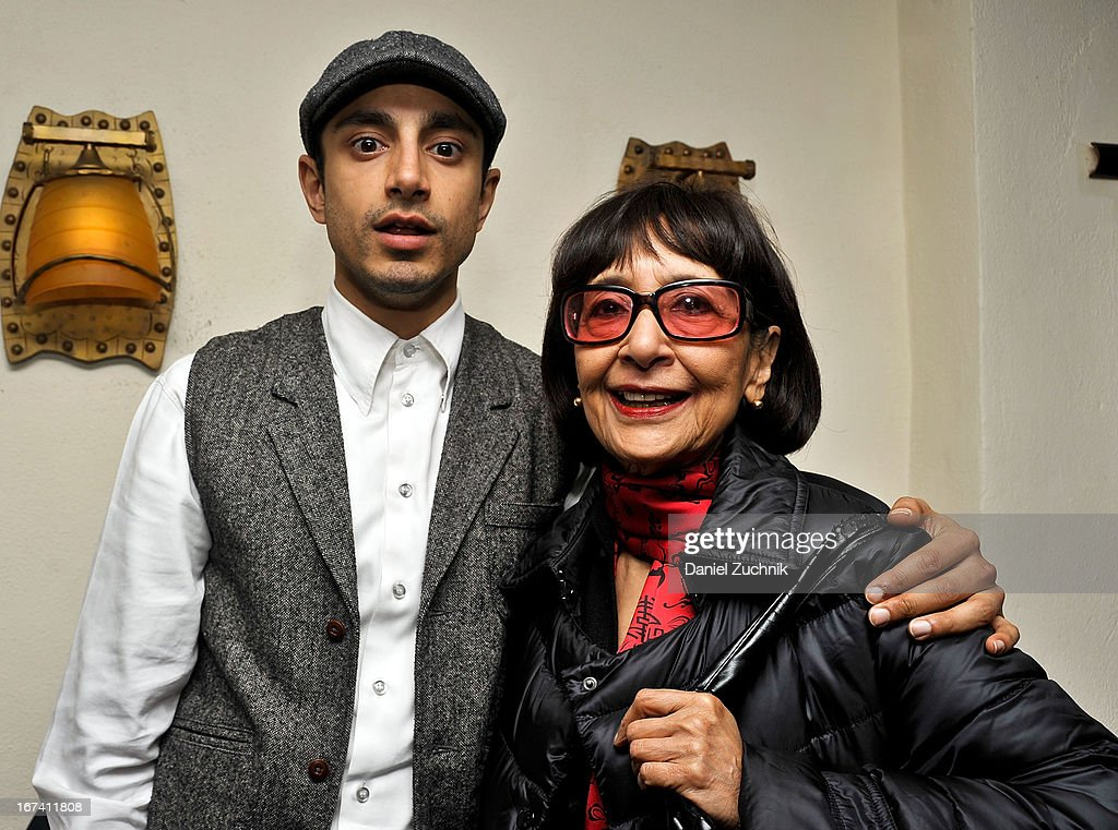 Riz Ahmed(L) attends the after party following 'The Reluctant Fundamentalist' screening during the 2013 New York Indian Film Festival at Yuva on April 24, 2013 in New York City.
