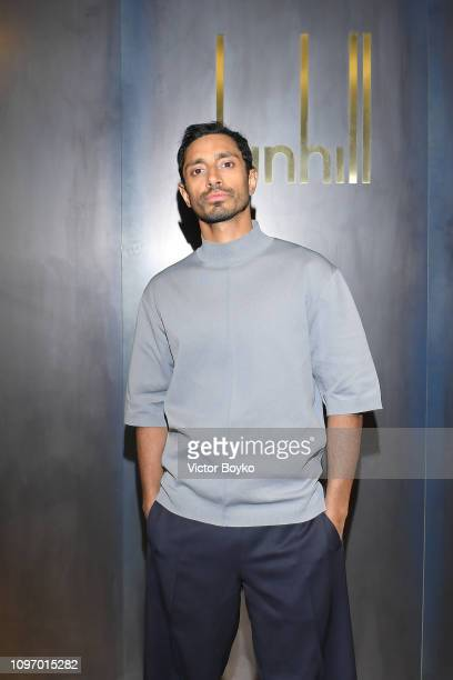 Riz Ahmed attends the Dunhill London Menswear Fall/Winter 20192020 show as part of Paris Fashion Week on January 20 2019 in Paris France