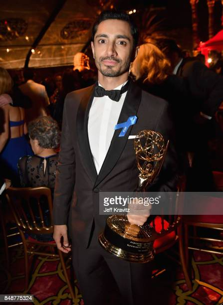 Riz Ahmed attends the HBO's Official 2017 Emmy After Party at The Plaza at the Pacific Design Center on September 17 2017 in Los Angeles California