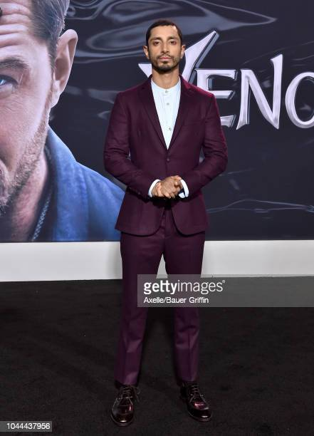 Riz Ahmed attends the premiere of Columbia Pictures' 'Venom' at Regency Village Theatre on October 1, 2018 in Westwood, California.