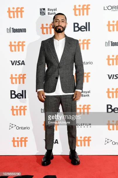 Riz Ahmed attends the The Sisters Brothers premiere during 2018 Toronto International Film Festival at Princess of Wales Theatre on September 8 2018...