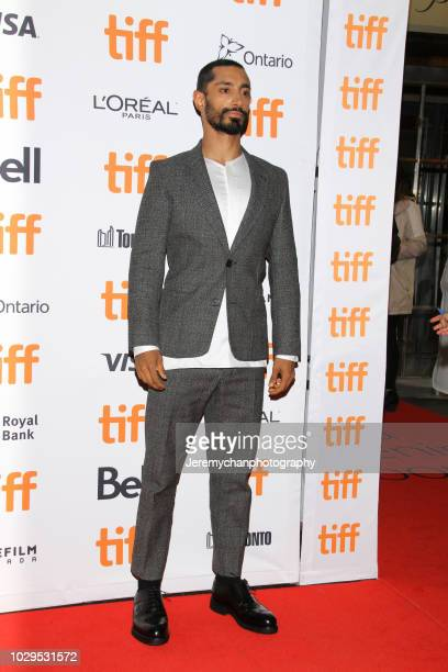 Riz Ahmed attends the 'The Sisters Brothers' Premiere during the 2018 Toronto International Film Festival at Princess of Wales Theatre on September 8...
