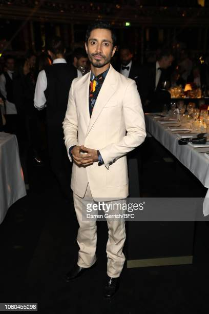 Riz Ahmed during preceremony drinks at The Fashion Awards 2018 In Partnership With Swarovski at Royal Albert Hall on December 10 2018 in London...