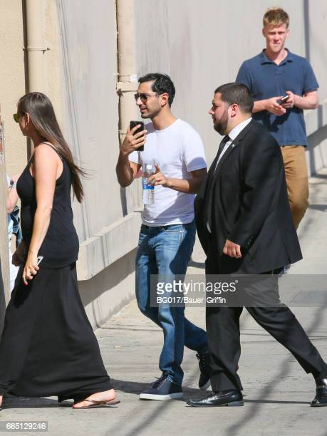 Riz Ahmed is seen on April 05 2017 in Los Angeles California