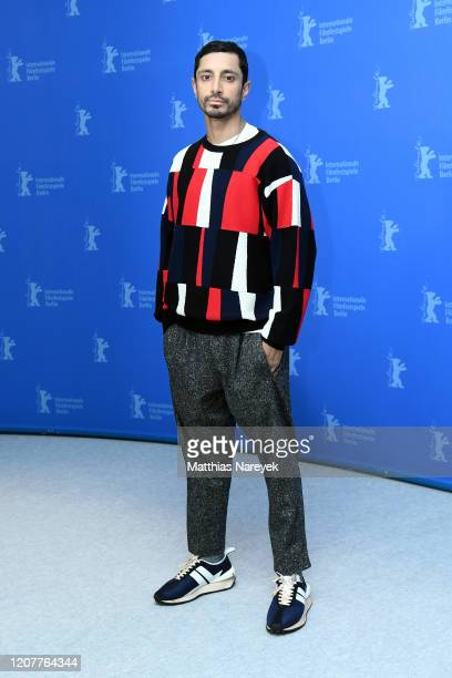 """Riz Ahmed poses at the """"Mogul Mowgli"""" photo call during the 70th Berlinale International Film Festival Berlin at Grand Hyatt Hotel on February 21,..."""