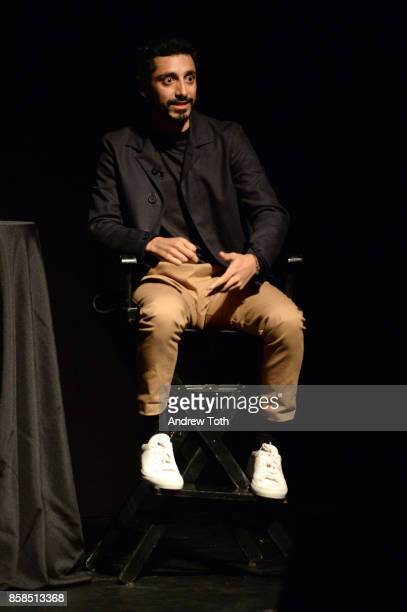 Riz Ahmed speaks on stage during The 2017 New Yorker Festival at Gramercy Theatre on October 6, 2017 in New York City.