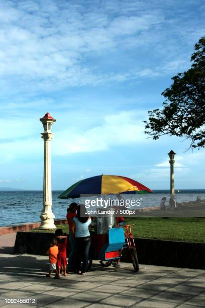rizal boulevard, dumaguete - negros oriental stock pictures, royalty-free photos & images