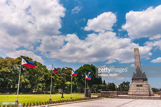 rizal park, manila - manila philippines stock pictures, royalty-free photos & images