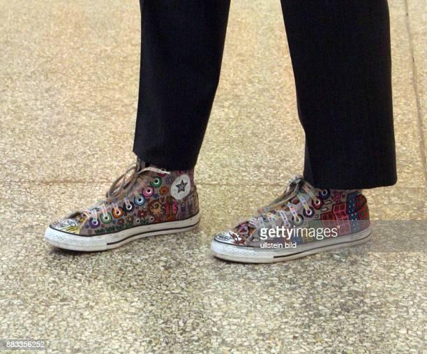 Rizzi James Kuenstler USA Aufnahme seiner Schuhe