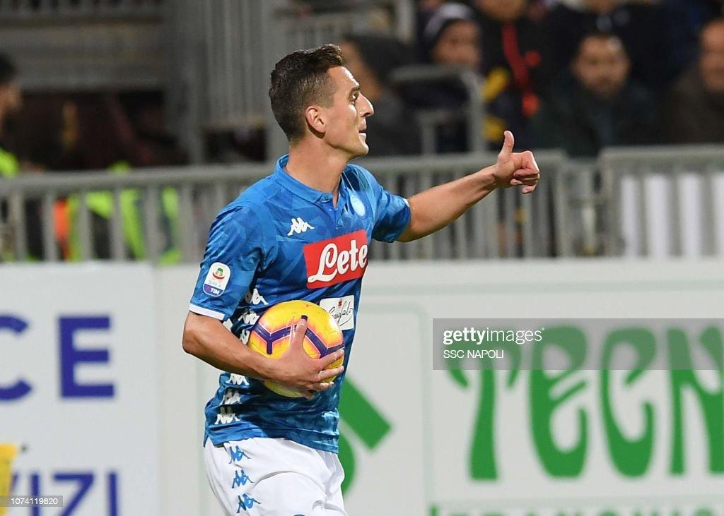 Cagliari v SSC Napoli - Serie A : News Photo