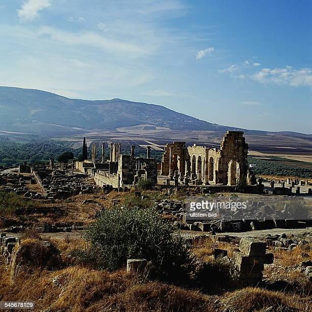 Römische Ruinenstadt Volubilis bei Meknes- o.J.