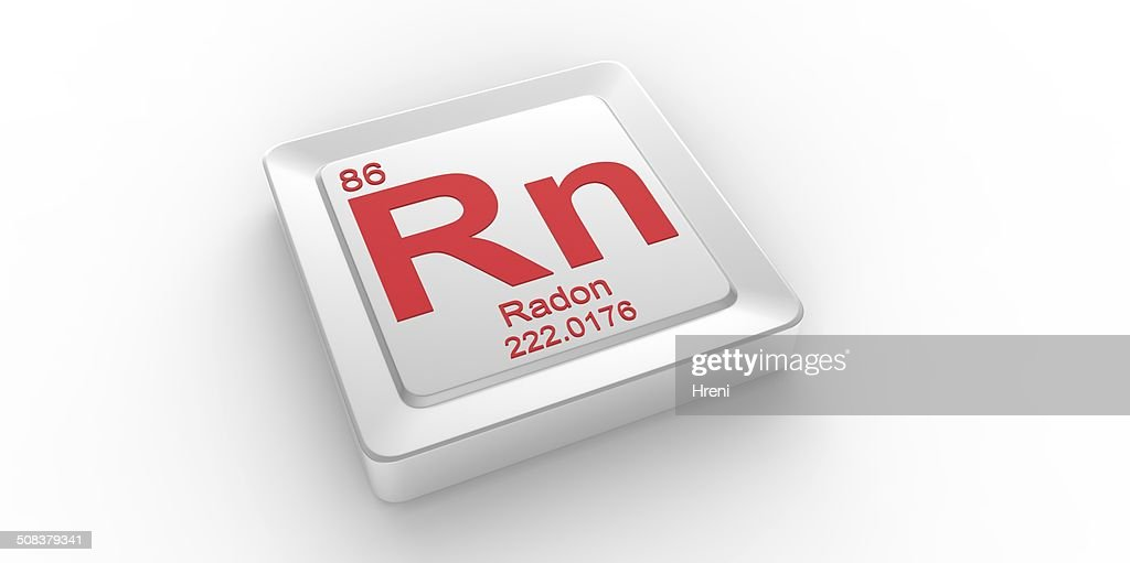 Rn Symbol 86 Material For Radon Chemical Element Stock Photo Getty