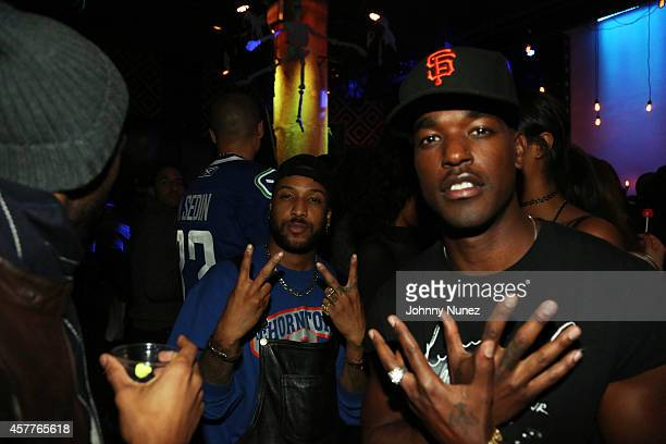 Ro James and Luke James attend Party Next Door Live at SOB's on October 23 in New York City