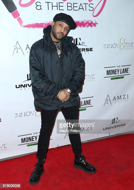 Ro James attends the 2018 Beauty The Beats Celebrity Party and Panel Discussion at Dream Magic Studios on February 15 2018 in Canoga Park California