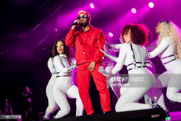Ro James performs at the 25th Essence Festival at the MercedesBenz Superdome on July 07 2019 in New Orleans Louisiana
