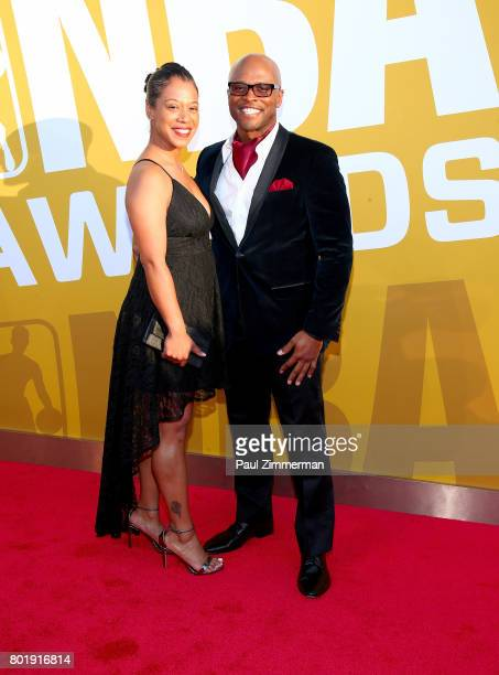 Ro Parrish attends the 2017 NBA Awards at Basketball City Pier 36 South Street on June 26 2017 in New York City