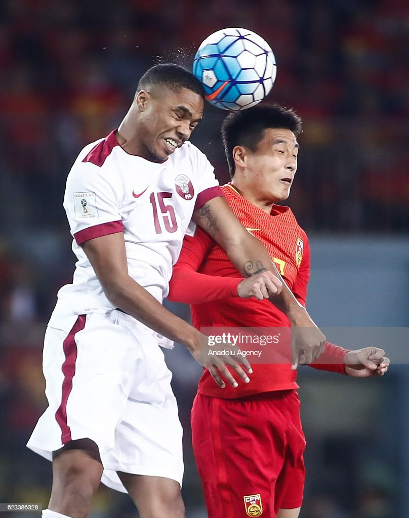 Fantastic China World Cup 2018 - ro-ro-15-of-qatar-and-wu-lei-7-of-china-vie-for-the-ball-during-the-picture-id623386328  Photograph_939525 .com/photos/ro-ro-15-of-qatar-and-wu-lei-7-of-china-vie-for-the-ball-during-the-picture-id623386328