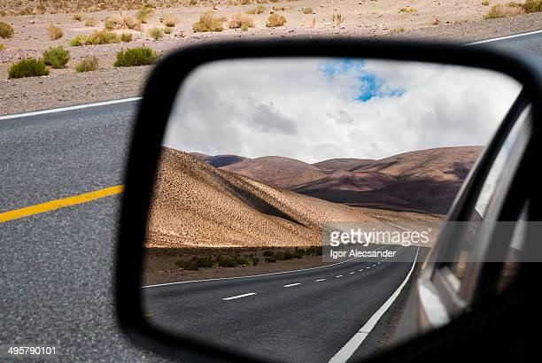 Road 52 in Susques, Jujuy, Argentina