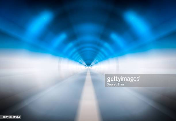 road abstract background - light at the end of the tunnel stock pictures, royalty-free photos & images