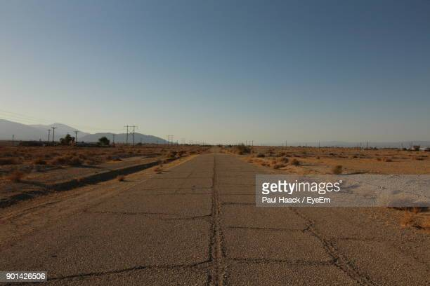road against clear sky - haack stock pictures, royalty-free photos & images