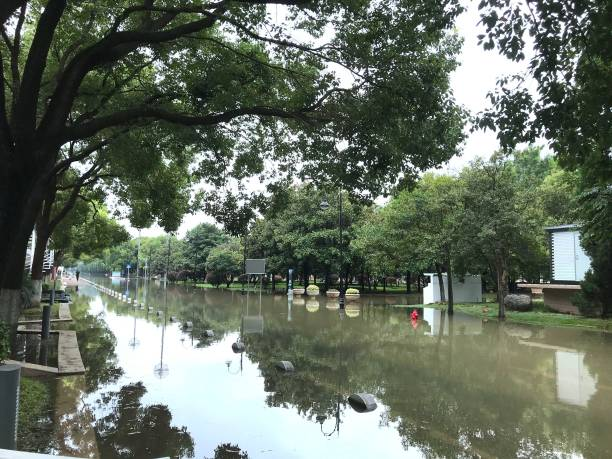 CHN: Flooding Affects Parts Of China