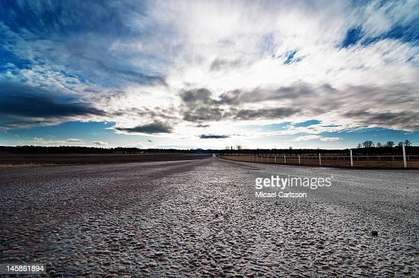 Road at Apertin