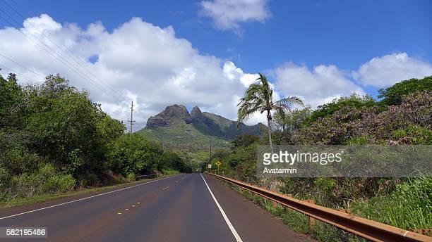 road at big island - hawaii - big island hawaii islands stock pictures, royalty-free photos & images