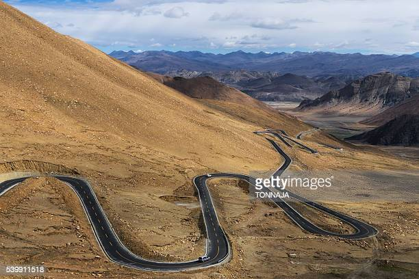 Road at the roof of the world, TIbet, Chian