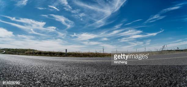 Road background of automobile advertising