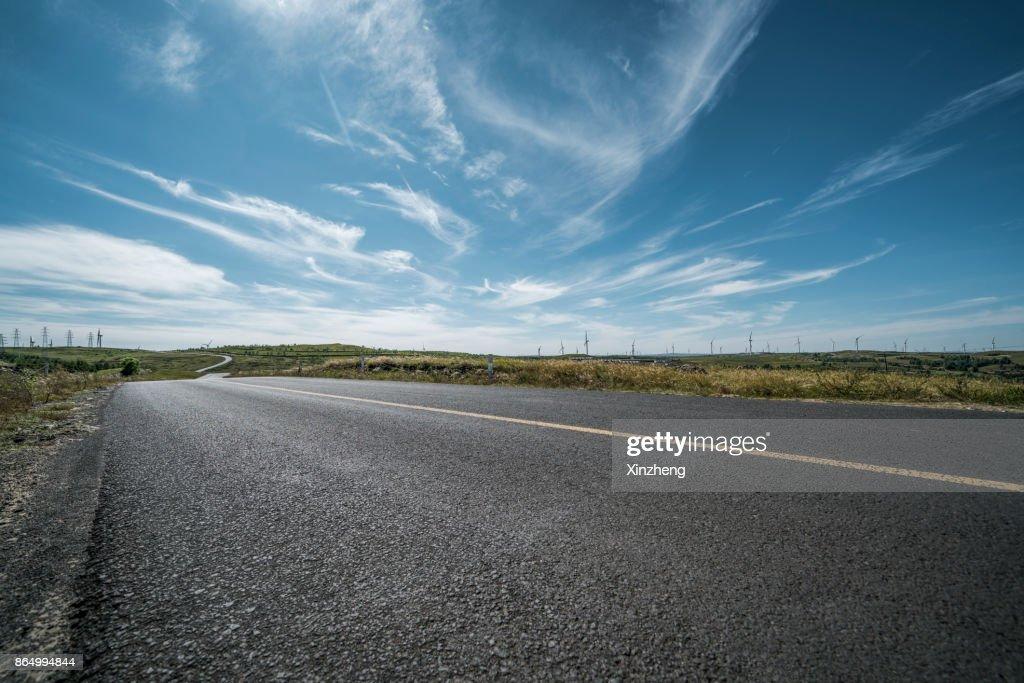 Road background : Stock Photo