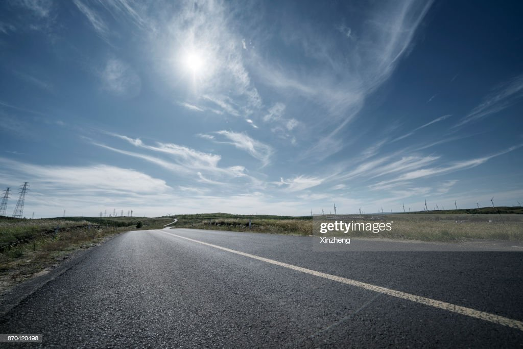 Road Background Foto De Stock Getty Images