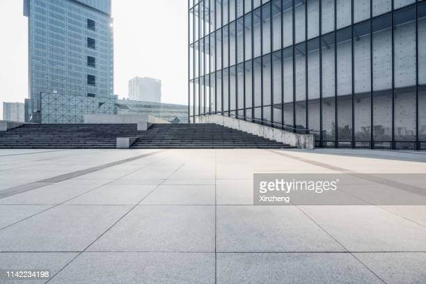 road background, viewing platform - tadao ando stock photos and pictures