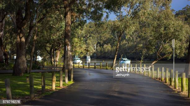 A Road beside the Lake, Sydney, Australia