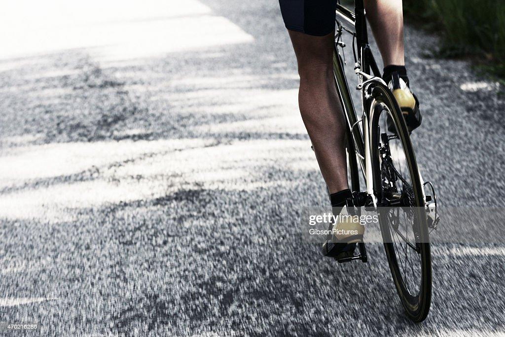 自転車ライダー Road : ストックフォト