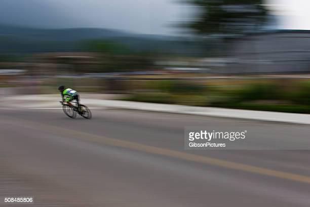 Road Bike Breakaway Rider