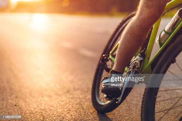 road bike rider - pedal stock pictures, royalty-free photos & images