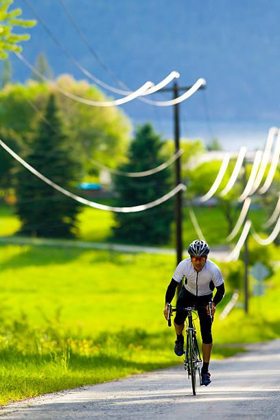 Road Bicycling In British Columbia, Canada Wall Art