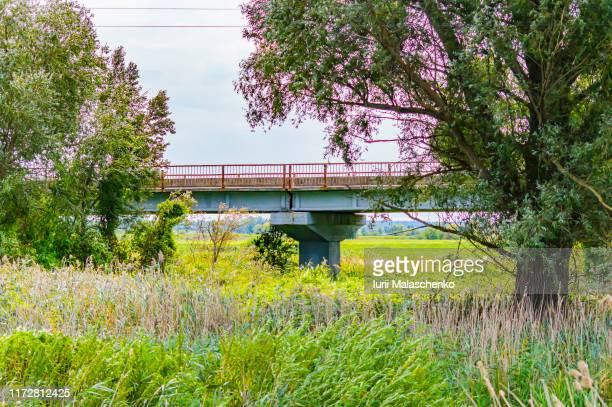 road bridge over river industry