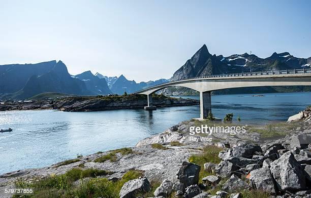 Road bridge - Reine, Norway