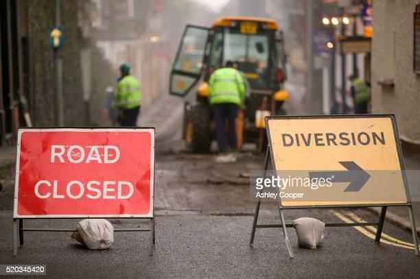 Road Closed for Repair