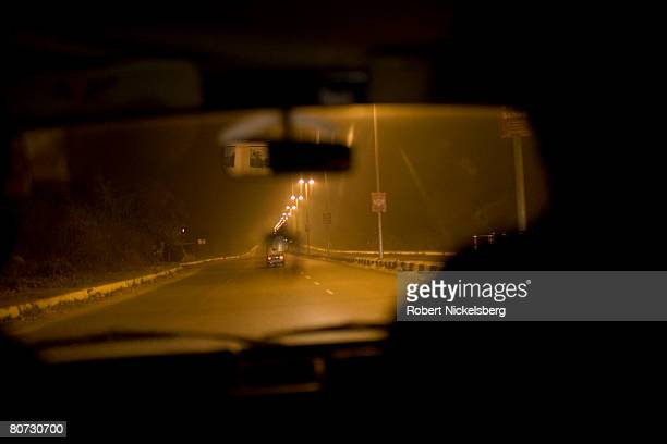 Road construction in New Delhi has not kept pace with economic development and booming car sales January 31 2008 in New Delhi India It's reported...