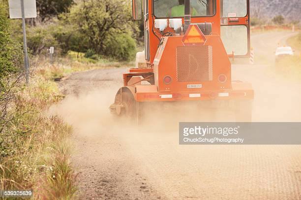 Road Construction Machinery Sweeping Dust