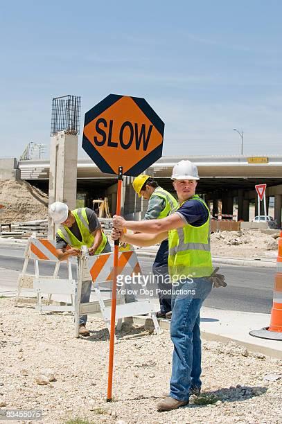 road construction - 遅い ストックフォトと画像