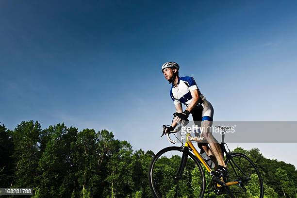 road cycling in the contryside. - cycling event stock pictures, royalty-free photos & images
