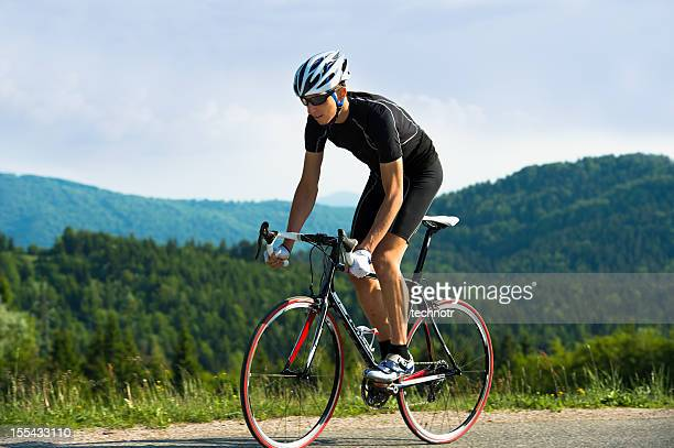 road cyclist - racing bicycle stock pictures, royalty-free photos & images
