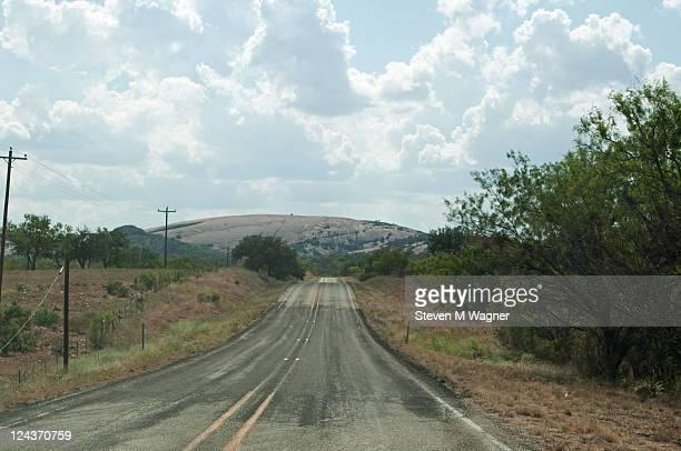 Road FM 965 near enchanted rock